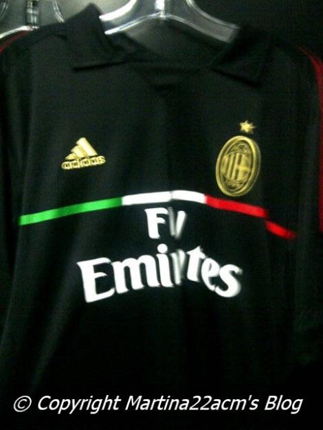 Milan third jersey