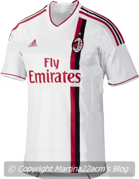 Milan's new away jersey for season 2011/2012