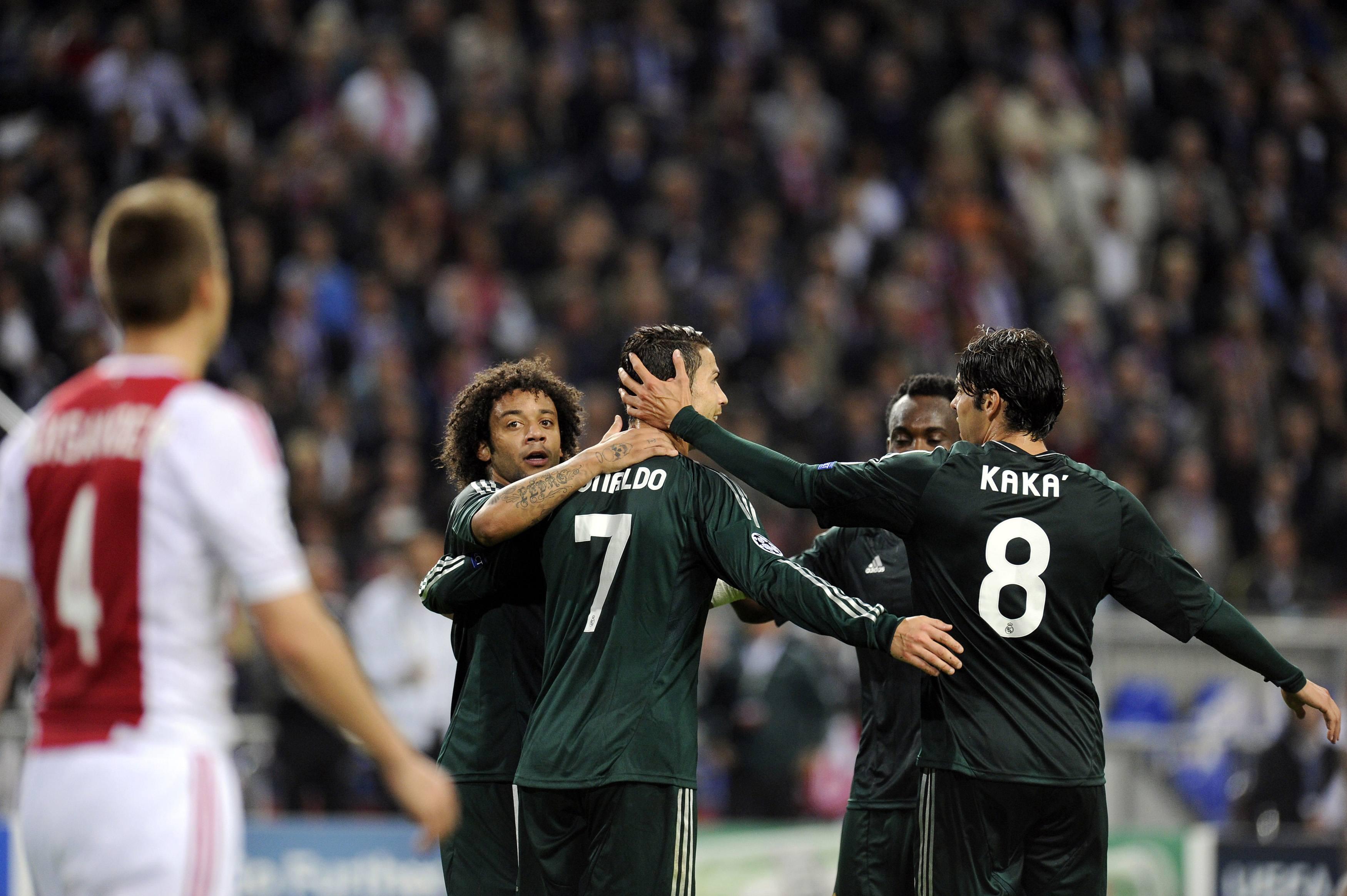 Ajax Vs Madrid: PHOTOS: Ajax 1-4 Real Madrid (Kaka)