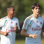 kaka first training milanello (10)