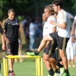 kaka first training milanello (1)