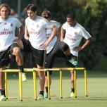 kaka first training milanello (12)