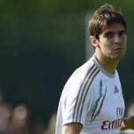 kaka first training milanello (15)