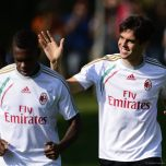 kaka first training milanello (16)