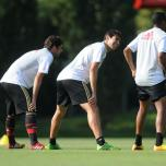 kaka first training milanello (17)