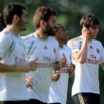 kaka first training milanello (23)
