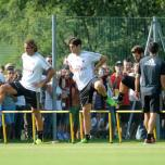 kaka first training milanello (26)