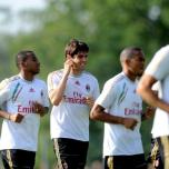 kaka first training milanello (27)