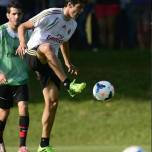 kaka first training milanello (3)