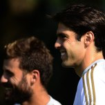 kaka first training milanello (34)