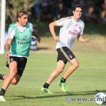 kaka first training milanello (42)