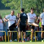 kaka first training milanello (8)