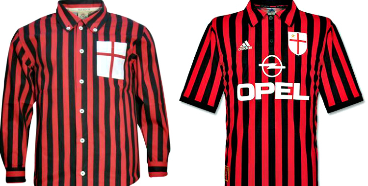 low priced 74b89 d93fb A.C. Milan Adds Special Crest To 2014-15 Kits | Chris ...